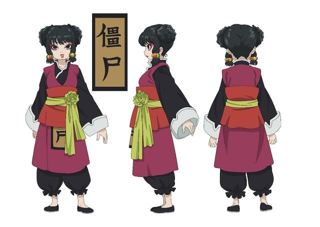 チュンのキャラクタービジュアル。