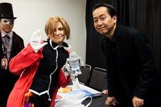 「Anime NYC powered by Crunchyroll」のイベントの様子。