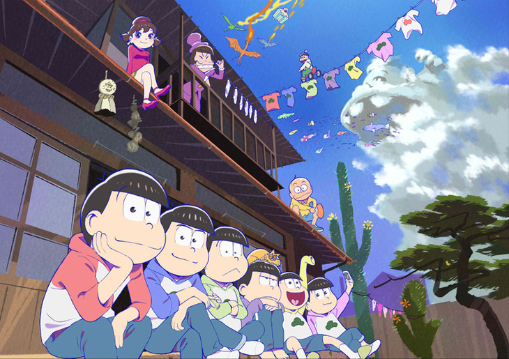 アニメ「おそ松さん」キービジュアル