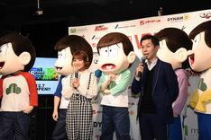 「VR PARK TOKYO IKEBUKURO」オープン記念のVR説明会の様子。