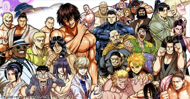 「ケンガンアシュラ」アニメ化!企業が雇った闘技者同士のバトル描く格闘マンガ - コミックナタリー