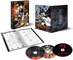Blu-ray「DRIFTERS episode 13-14」の展開図。