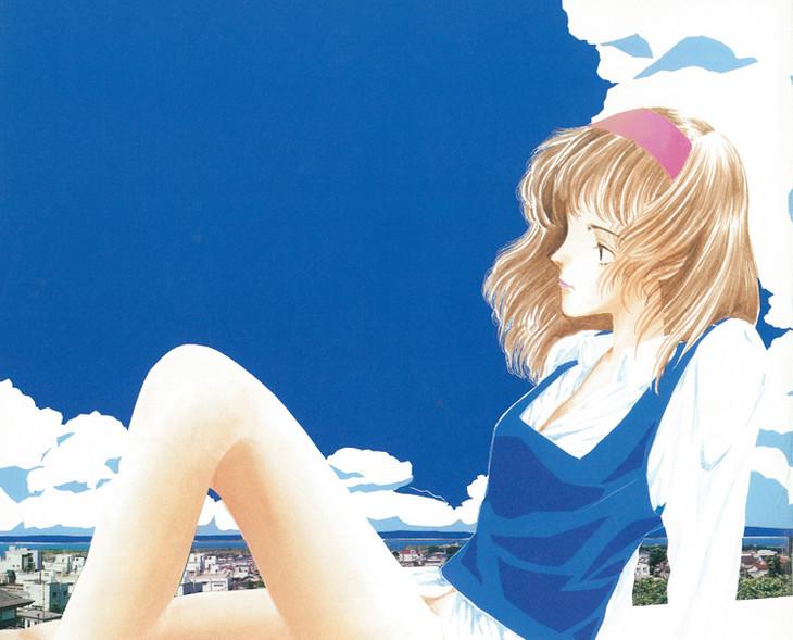 「BLUE AND OTHER SHORT PIECES 増補新装版」のイメージ。実際のカバー画像とは異なる仮のもの。(c)山本直樹