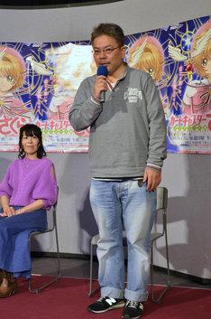 「カードキャプターさくら クリアカード編」先行上映会の様子。