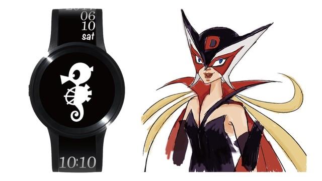FES Watch Uのタツノコプロ55周年記念別注品。