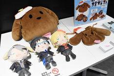 「『ユーリ!!! on ICE × サンリオキャラクターズ × 東京ガールズコレクション』POP UP SHOP in TOKYO」の様子。
