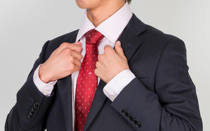 「宇宙兄弟 ピコの勝負ネクタイ」着用例