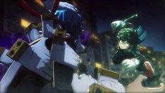 「僕のヒーローアカデミア One's Justice」のティザーPVより。※画面は開発中のもの。