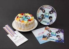 「機動戦士ガンダム00 10th Anniversary ケーキセット」