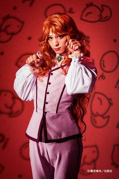 佐奈宏紀扮するマライヒ。