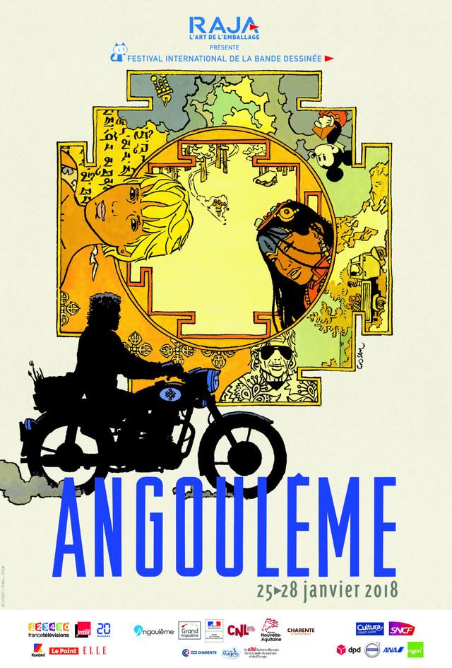 「第45回アングレーム国際漫画フェスティバル」公式ポスター