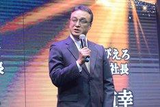 テレビ東京の川崎由紀夫アニメ局長。