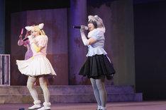 舞台「けものフレンズ」ゲネプロの様子。