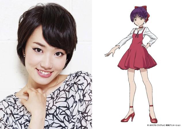 左から庄司宇芽香、ねこ娘のキャラクター設定画。