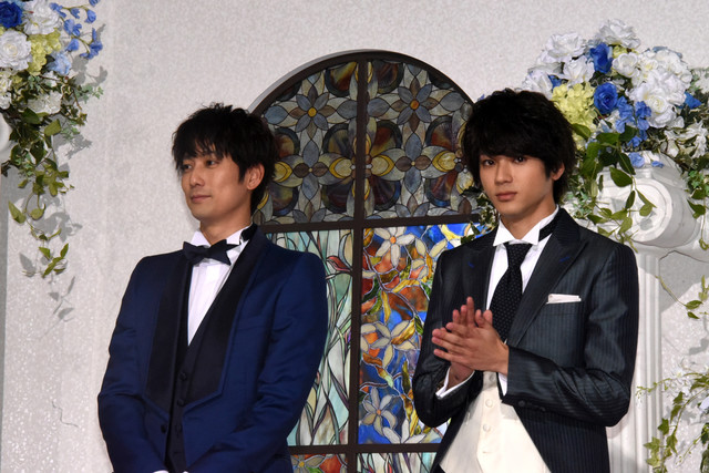 左から平岡祐太、山田裕貴。
