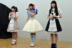 「キラッとプリ☆チャン」への意気込みを語る主演陣。