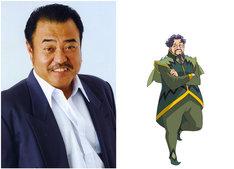 左から町田政則、ダイガンのキャラクター設定画。