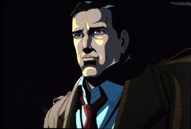 「迷宮物語」より、川尻善昭監督の「走る男」。(c)KADOKAWA1986