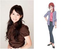 左から桑谷夏子、野乃すみれのキャラクター設定画。