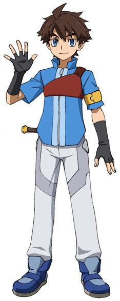 GBN内の住人となったキャラクターは、それぞれ「ダイバーネーム」を名乗る。ミカミ・リクのダイバーネームはリク。