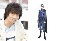 左から三木眞一郎、リストルのキャラクター設定画。