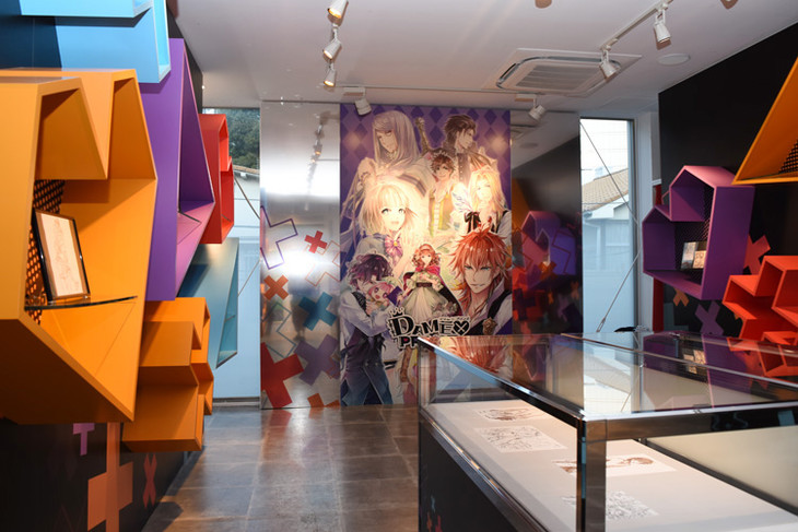 「DAME×PRINCE STORE in HARAJUKU」の展示スペースの様子。