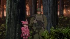 アニメ「ソードアート・オンライン オルタナティブ ガンゲイル・オンライン」第1弾CM動画より。