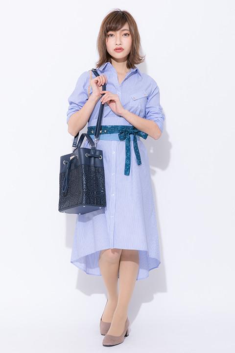 ロイ・マスタングモデルの着用イメージ。