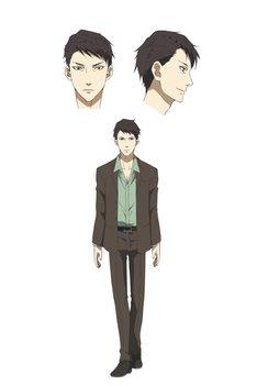 チェガル(CV:津田健次郎)のキャラクタービジュアル。