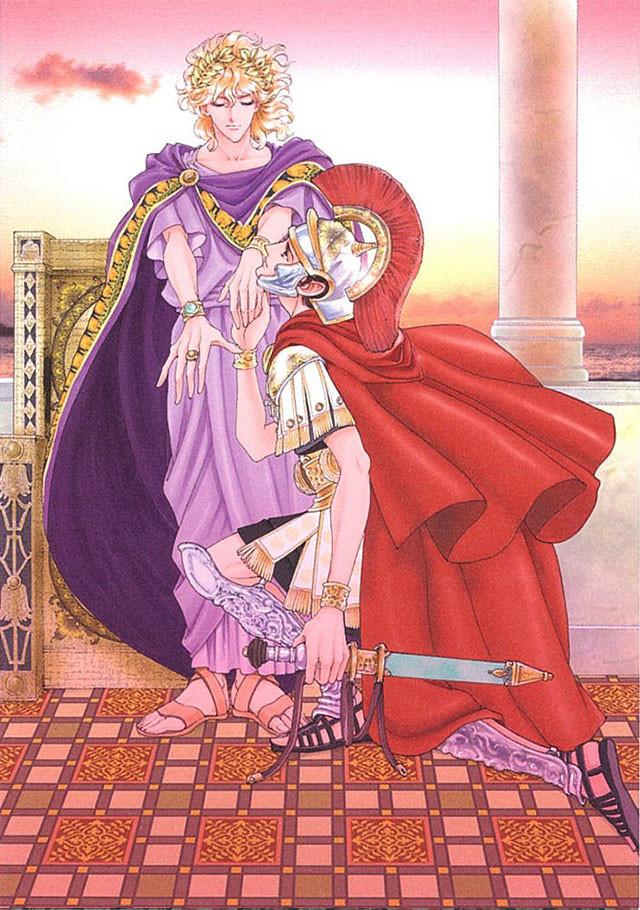 「さいとうちほBLアートワークス 無慈悲な王の仰せのままに」より。