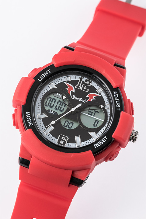 「アイシールド21」コラボレーション 腕時計(泥門デビルバッツモデル)