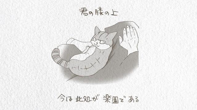 「吾輩は猫である」ミュージックビデオより。