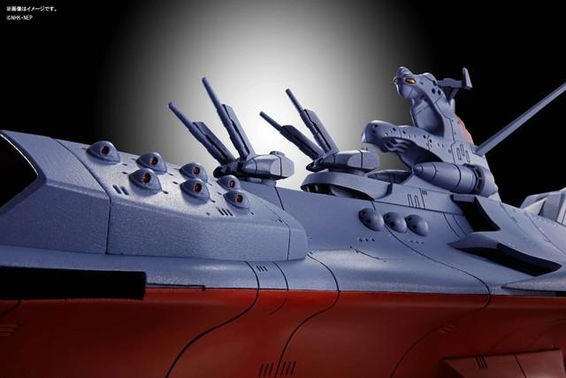 「超合金魂 GX-80 万能戦艦 N-ノーチラス号」砲塔・砲身の可動。
