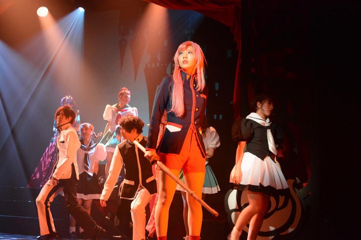ミュージカル「少女革命ウテナ~白き薔薇のつぼみ~」ゲネプロの様子。