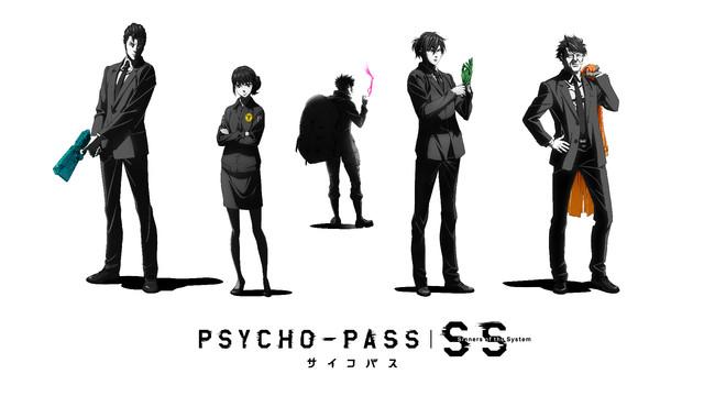 「PSYCHO-PASS サイコパス  Sinners of the System」のビジュアル。