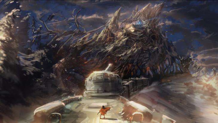 「甲鉄城のカバネリ ~海門決戦~」のイメージボード。(c)カバネリ製作委員会