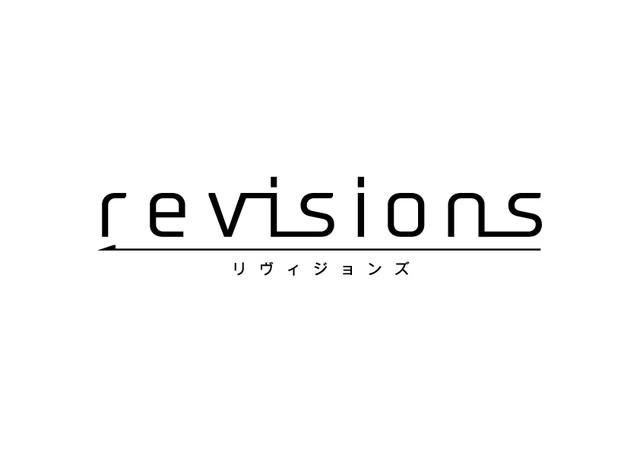テレビアニメ「revisions リヴィジョンズ」ロゴ