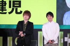 「BANANA FISH」にてアッシュ・リンクス役を演じる内田雄馬、奥村英二役を演じる野島健児。