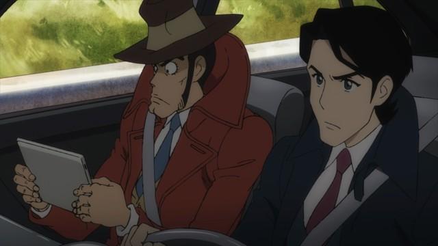 アニメ「ルパン三世 PART5」場面カット