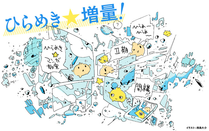 「ゲンロン ひらめき☆マンガ教室」第2期のメインビジュアル。