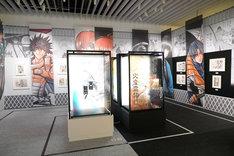 「るろうに剣心-明治剣客浪漫譚-」の展示コーナー。(c)和月伸宏/集英社