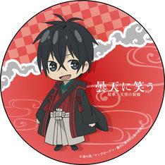 キャラクターデザイン・田中紀衣描き下ろしによる空丸のちびキャラ缶バッジ。
