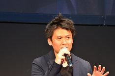 プロデューサーの木村誠。