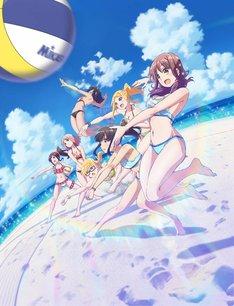 テレビアニメ「はるかなレシーブ」キービジュアル