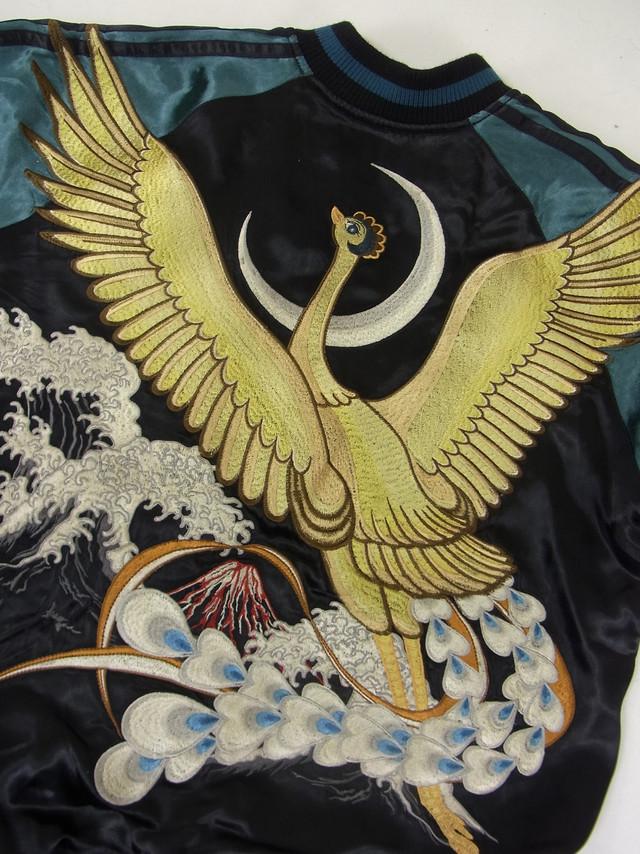 スカジャン「火の鳥の飛翔」