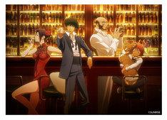 「『カウボーイビバップ』×アニメイトカフェ」キービジュアル。