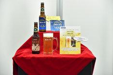 開発中のビール。