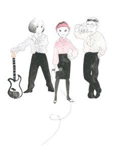 志村貴子による空気公団の最新のアーティストイラスト。