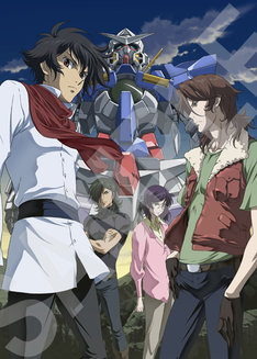 "「VEDA~MOBILE SUIT GUNDAM 00""Ultimate""ART WORKS&ILLUSTRATIONS」のサンプル画像。"