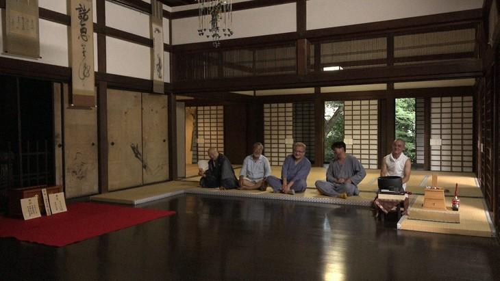 「スーパープレミアム 傑作か、それとも…京都 大徳寺・真珠庵での格闘」より。(写真提供:NHK)